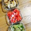 食費1万円生活〜彩りと栄養バランスがいい簡単常備菜3品