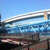 新水戸橋。車道+歩道+水道+高速道路。都内の交通網は非常時にはどうなるのだろう。