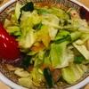 新宿の神座で夜中に野菜たっぷりラーメン♪♪