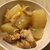 鶏モモと大根の味噌煮