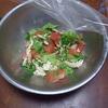 幸運な病のレシピ( 389 )夜:牛テリテリ、麻婆豆腐、トマトサラダ、汁