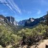 ヨセミテ定番トンネルビューからInspiration Pointまでのショートトレッキング | カリフォルニアのトレッキング