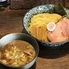[ま]麺処 はなぶさの土日限定「えび香る鶏豚骨つけ麺」はえびの香ばしさや旨味が加わってさらに美味しいつけ麺でした @kun_maa