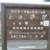 シリーズ土佐の駅(140)土佐佐賀駅(土佐くろしお鉄道中村線)