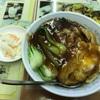 中華街の「天龍菜館」で親子飯
