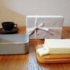 MARGARET HOWELL x 野田琺瑯のグレーなバターケースに大山バター