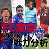【FC東京】2020移籍情報・スタメン予想(1/26時点)