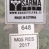 【フィンランドの軍服】陸軍M05迷彩ジャケット(エストニアメイド)とは? 0559  🇫🇮  ミリタリー