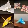 【まさにぃin Paris】やっぱり飛行機でも折り紙三昧。