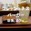 【田無カフェ】駅前で一息「フレッシュネスバーガーエミオ田無店」レモンがっつりだ
