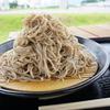 大盛り蕎麦¥500【小木曽製粉所】と【仏崎観音寺】