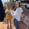 ティナー(Tina)がコロナで生活に困っている人に食糧支援