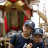 150年ぶりの大船鉾と野球少年