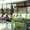 圓徳院の特別サロン体験記。京都特別観光ラウンジでお茶会!アメックス会員ならオススメ!!