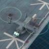 V-22オスプレイ(全長36mm)で遊び倒す! 護衛艦いずもペーパークラフト 艦載機その3
