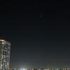 国際宇宙ステーションとスペースシャトルのランデブーが見えた