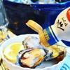 ストウブ蒸し牡蠣とヤマサ絹しょうゆと生搾り広島レモン