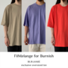 【FilMelange for Burnish】EXCLUSIVE OVERSIZED TEE