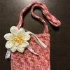 手編みでカワイイ幼児用ポシェット作り♪
