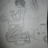 絵を練習している。漫画を描いて大富豪になりたい。