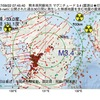2017年09月22日 07時45分 熊本県阿蘇地方でM3.4の地震