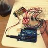 arduinoで2桁7セグLEDをカウントアップ。(ダイナミック点灯)