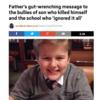 いじめで自殺、13歳少年の父親が遺書を公開