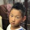 子供の「外国人風、超ベリーショート・ツーブロック」