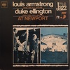 AT NEWPORT/LOUIS ARMSTRONG and His All-Stars , DUKE ELLINGTON and His Orchestra