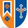 十字架の紋章、片側に寄せる