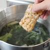 簡単なめこ冷凍術!味噌汁に半分だけパッと使えるようにする方法