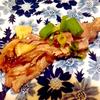 マグロのほほ肉のステーキ