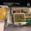 帰国便 ウズベキスタン航空 機内食
