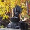 十三仏と紅葉「普賢菩薩」