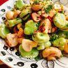空豆とマッシュルームのクミン炒め(動画レシピ)