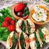 低糖質☆卵とハムの高野豆腐サンド