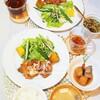 ラーメン亭の油淋鶏がおいしくて、おうちごはんで初の油淋鶏/My Homemade Dinner/อาหารมื้อดึกที่ทำเอง