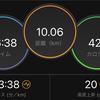 【マラソン練習】10km走のペースがフルマラソンのペースで大会が懐かしくなった!#185点目