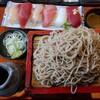 お寿司とお蕎麦とヨーグルト