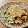 【レシピ】タルタルチキンサラダ  玉ねぎなしのキュウリタルタルソースで頂きます♡