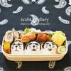 ドラえもんの夏•サングラス弁当作り/My Homemade Doraemon Lunchbox/ข้าวกล่องเบนโตะที่ทำเอง