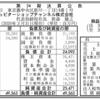 ジュピターショップチャンネル株式会社 第24期決算公告