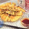 ダイエットにも◎簡単☆海鮮豆腐チヂミ