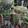 【大石神社(東大阪市)】苔むした濃い緑 厳かな雰囲気を醸し出す御神体の大石