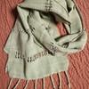 レース織りのスカーフ