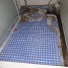 浴室床タイル 補修