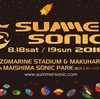 SUMMER SONIC 2018 OSAKA 2日目