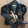 クッシュマン U.S.ネイビーメルトンジャケットで硬派にコーディネート