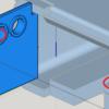 平行ではない、かつ交わらない線を滑らかに繋げる簡易的な方法