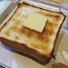 ペリカンカフェで炭焼きトースト
